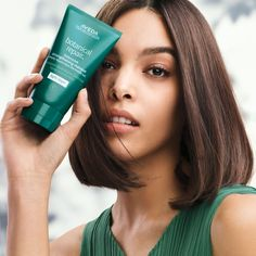 The AVEDA Botanical Repair Strengthening Masque Light strengthens and repairs damaged hair using a specially developed plant-based, 3-layer hair repair technology. 🌿 Psst, it also smells heavenly! Schwarzkopf Professional, Professional Hair, Damaged Hair Repair, Aveda, Shiny Hair, Layered Hair, Plant Based, Your Hair, Hair Care