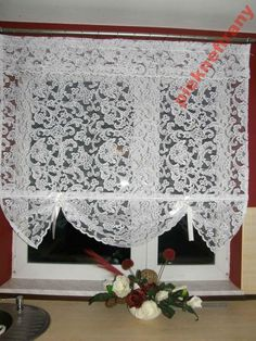 firany nowoczesne firana roletki roletka SUPER Valance Curtains, Decoration, Home Decor, Blinds, Windows, Homes, Decor, Decorating, Decorations