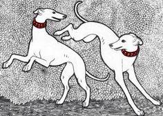 Greyhound Art, Italian Greyhound, Most Beautiful Dogs, Dog Lady, Lurcher, Wolfhound, Dog Signs, Dog Paintings, Dog Coats