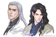 Saeros and Daeron