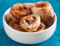 Cinnamon Bun Minis | Happy Herbivore