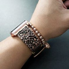 Apple watch band -Sakura Cherry-Handmade leather strap for Apple Watch Series 3 ,Series 2,Series 1 S3 , S2 Gear,Seven Friday ,Panerai by NameEngraved on Etsy