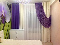 A 2018 év színe az Ultra Violet - vagyis az égszínkék lila - Agria Textil Design Shades Blinds, Window Dressings, Ultra Violet, Drapery, Bed Sheets, Window Treatments, Pantone, Diy And Crafts, House Design