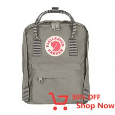 The Fjallraven Kanken Mini is a smaller version of the iconic Kanken, which was originally designed for Swedish school children in