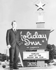 Kimmons Wilson started a hotel chain called Holiday Inn in Memphis, Tn.