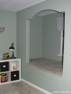 reading nook for our playroom