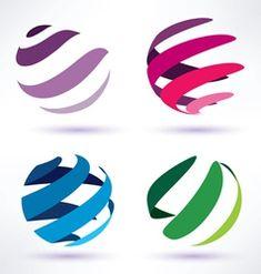 vector globes