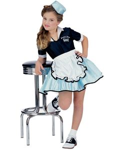 Girls-50s-Car-Hop-Diner-Waitress-Classic-Costume