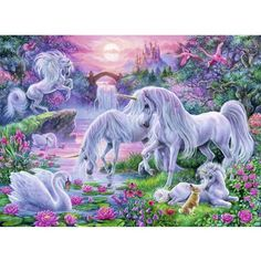 Ravensburger Unicorns in the Sunset Glow 150 Piece Puzzle
