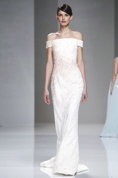Georges Hobeika Spring 2015 Couture ❤ - Worn by Li Bingbing at the 'SINA Anniversary Celebration' Couture Week, Haute Couture Fashion, Emo Dresses, Fashion Dresses, Elegant Wedding Dress, Wedding Dresses, Party Dresses, Lolita Fashion, Punk Fashion