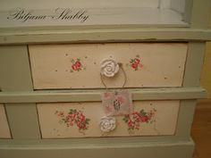 Biljana Shabby: Shabby chic, decoupage furniture & English Cottage