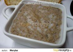 Domácí paštika z vepřových jater recept - TopRecepty.cz Macaroni And Cheese, Oatmeal, Recipies, Brunch, Food And Drink, Pudding, Snacks, Homemade, Baking