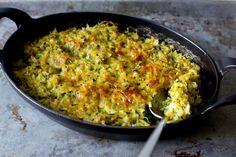 zucchini rice and cheese gratin | smittenkitchen.com