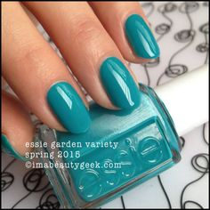Essie Garden Variety - Essie Spring 2015. For all the swatches, click on thru to www.imabeautygeek.com!