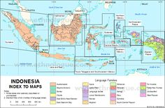 Indonesia: Index Map | Ethnologue