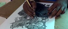 Touch the GOND | GOND ART of central India