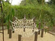 Come check out a rope spider web similar to this in the Fall 2014 at Rockin' K Maze.