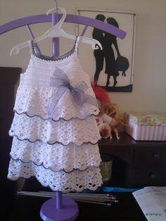 ganchillo y tricot...anamary: tutorial vestido ganchillo niña