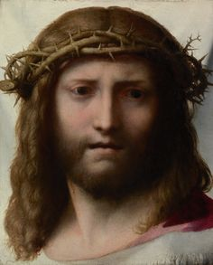 Head of Christ; Correggio (Antonio Allegri) (Italian, about 1489 - 1534); about…