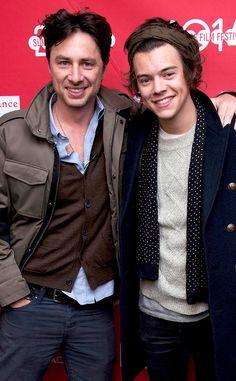 Zach Braff & Harry Styles from 2014 Sundance: Party Pics | E! Online