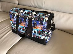 Sac Boston Fortnite de Cé Cile - Patron sac weekend Sacôtin