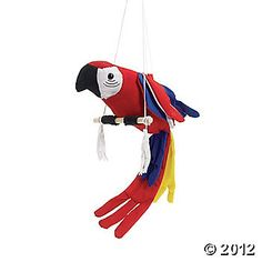 Pirate parrot ~ Oriental Trading