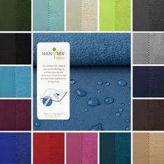 Nanotex™-Softshell  #Stoff #Outdoor #Wasserabweisend #Aktivstoffe #Nähen #DIY #Fleece
