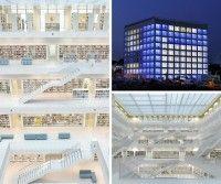 La biblioteca de Stuttgart, una maravilla arquitectónica al servicio de la cultura