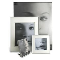 """Mercury Row Picture Frame Color: Silver, Size: 8"""" x 10"""" Frame/4"""" x 6"""" Mat"""