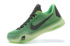Nike Kobe X Low Mens Basketball Green Shoe