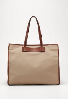 Marc O'Polo Shopping Bag - warm stone - Zalando.at Marc O Polo, Shopping Bag, Burlap, Reusable Tote Bags, Warm, Stone, Bags, Rock, Hessian Fabric