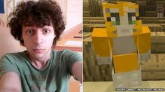 Stampy human and cat Omg I found out he lives close to portsmoth so he close to me freaking out omg omg omg I love his vids
