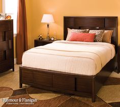 Small bedrooms can pose a challenge when it comes to squeezing in storage pieces. If you can't fit a dresser and mirror, consider a chest that won't take up as much floor space.