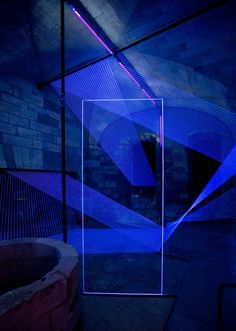 Architecture de lumiere Nightclub Design, Light Art Installation, Everything Is Blue, Bar Plans, All Of The Lights, Projection Mapping, Interactive Art, Light And Space, Background For Photography