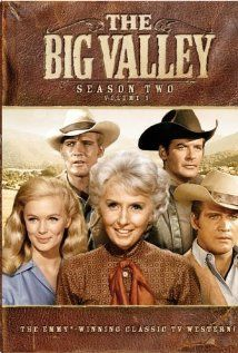 The Big Valley  -  Barbara Stanwyck (widowed mother, Victoria Barkley)... Linda Evans daughter, Audra)...Richard Long (son, Jarrod)...Peter Breck (son, Nick)...Lee Majors (Barkley kids' half -brother, Heath Barkley)  -  ABC  -  1965 - 1969