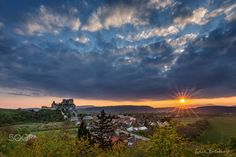 """Beckov sunset - Last light of the light in the Beckov village in Slovakia  Follow me on <a href=""""https://www.facebook.com/lubosbalazovic.sk"""">FACEBOOK</a> or <a href=""""https://www.instagram.com/balazovic.lubos"""">INSTAGRAM</a>"""