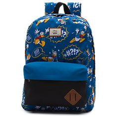 Disney Old Skool II Backpack from Vans - Donald Duck Disney Purse, Disney Vans, Disney Outfits, Skate Shoes, Kid Shoes, Vans Rucksack, Kids Skates, Vans Kids, Shopping