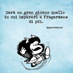 Da prendere in considerazione, parole di Mafalda
