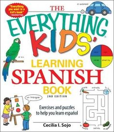Hola, amigos! Learning espanol is a blast with this book. Packed with sections of fun facts, tips, and silly Spanish phrases, kids will be speaking Spanish pronto ! In addition to thirty Spanish-theme