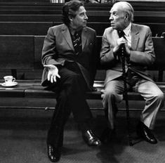 Jorge Luis Borges and Octavio Paz