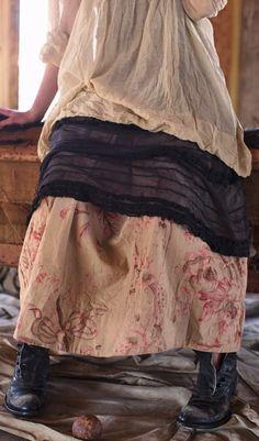 Beautiful Wear Magnolia Pearl Love that skirt fabric!!