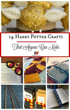 Love Harry Potter? Showcase your love with these Harry Potter crafts! These DIY Harry Potter projects are perfect for adults and teens.
