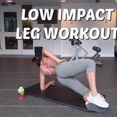 A fun (and low impact) workout for you to try today at home or at the gym 💪🏽No jumping/No lunging/No Squatting!🙅🏽♀️ this is a great leg work out to t Leg Workout At Home, Butt Workout, Gym Workouts, At Home Workouts, Knee Pain Relief, Low Impact Workout, Sport, Zumba, Physical Fitness