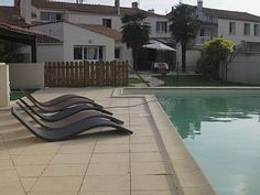Beautiful house with pool, fenced garden not overlooked.Vacation Rental in Saint Georges D Oleron from @homeaway! #vacation #rental #travel #homeaway