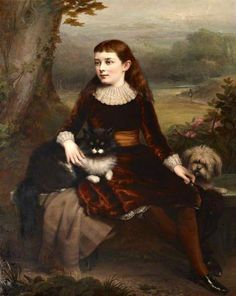 Alice Frances Theodora Wythes, Marchioness Of Bristol, As A Young Girl