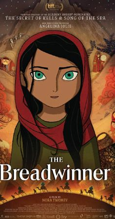 Directed by Nora Twomey.  With Saara Chaudry, Laara Sadiq, Shaista Latif, Ali Badshah. A headstrong young girl in Afghanistan disguises herself as a boy in order to provide for her family.