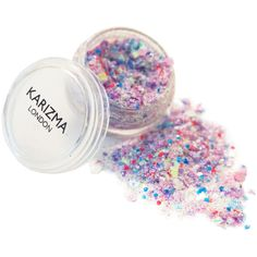 Karizma Unicorn Chunky Glitter (€7,21) ❤ liked on Polyvore featuring beauty products and makeup