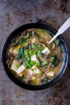 Miso Soba Noodle Soup   cooking ala mel by cookingalamel, via Flickr