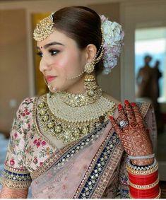 Bridal Makeup Images, Bridal Makeup Looks, Indian Bridal Makeup, Bridal Looks, Wedding Makeup, Indian Bridal Photos, Indian Bridal Outfits, Indian Bridal Fashion, Indian Bride Dresses