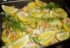 Lemon Chicken for a Summer´s Day Lunch